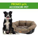Promo 50% accessori pet SAV Trentino